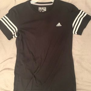 Adidas tee size adult small